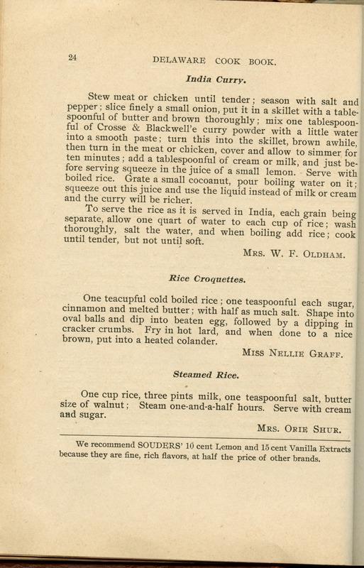 Delaware Cook Book (p. 29)