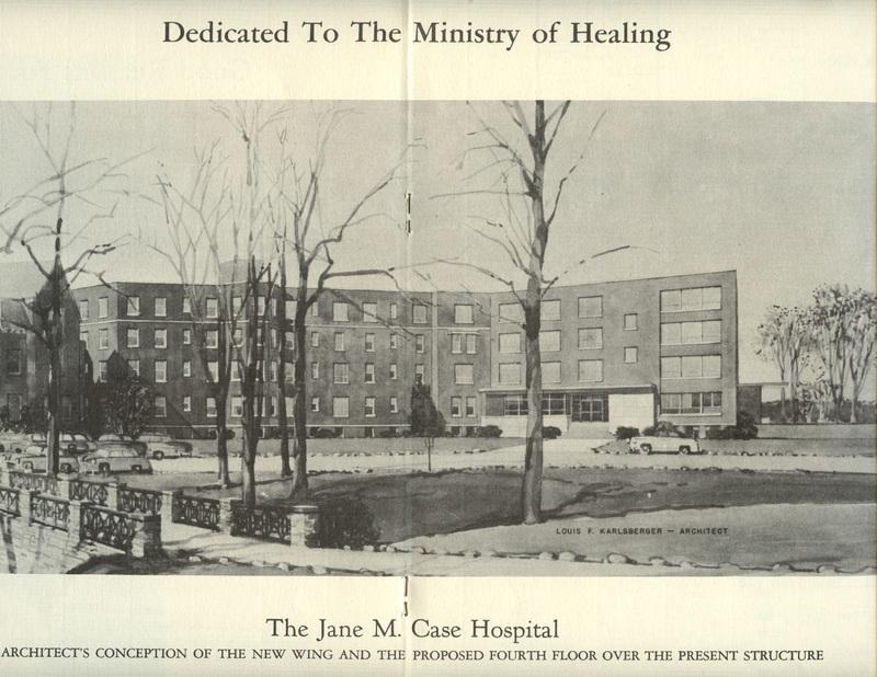 The Jane M. Case Hospital Building Campaign (p. 10)