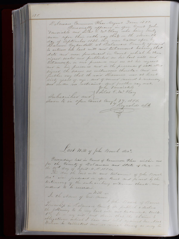 Delaware County Ohio Will Records Vol. 1 1812-1835 (p. 160)