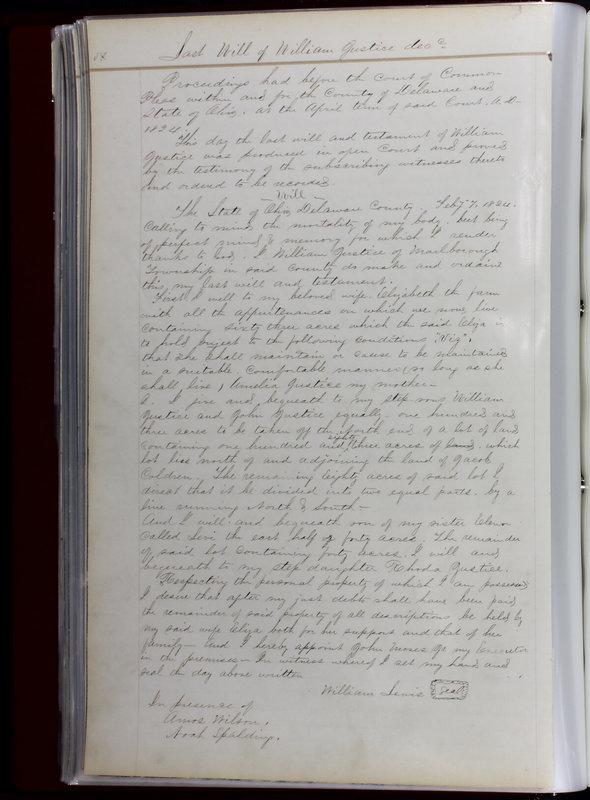 Delaware County Ohio Will Records Vol. 1 1812-1835 (p. 82)