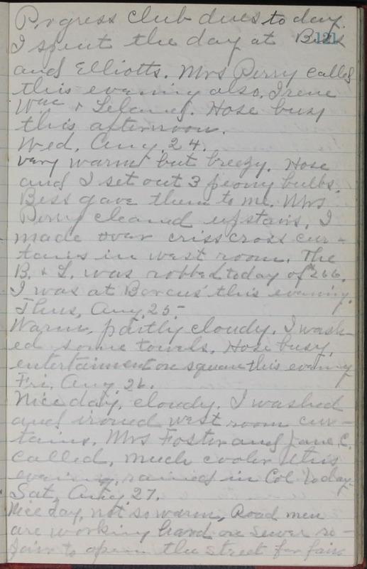 Roberta Hopkins' Journal, 1931-1933 (p. 124)