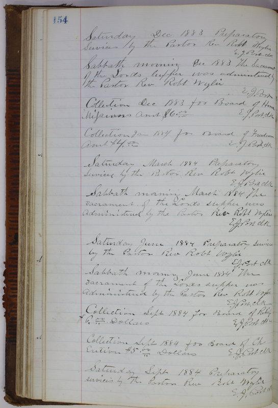 Sessional Records of the 1st Presbyterian Church of Trenton Delaware County Ohio 1873-1937 (p. 144)