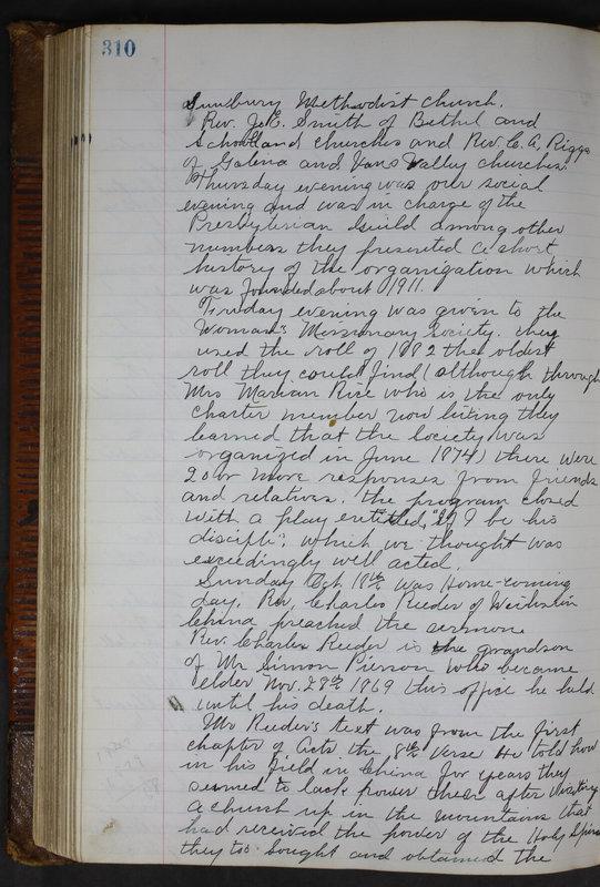 Sessional Records of the 1st Presbyterian Church of Trenton Delaware County Ohio 1873-1937 (p. 297)