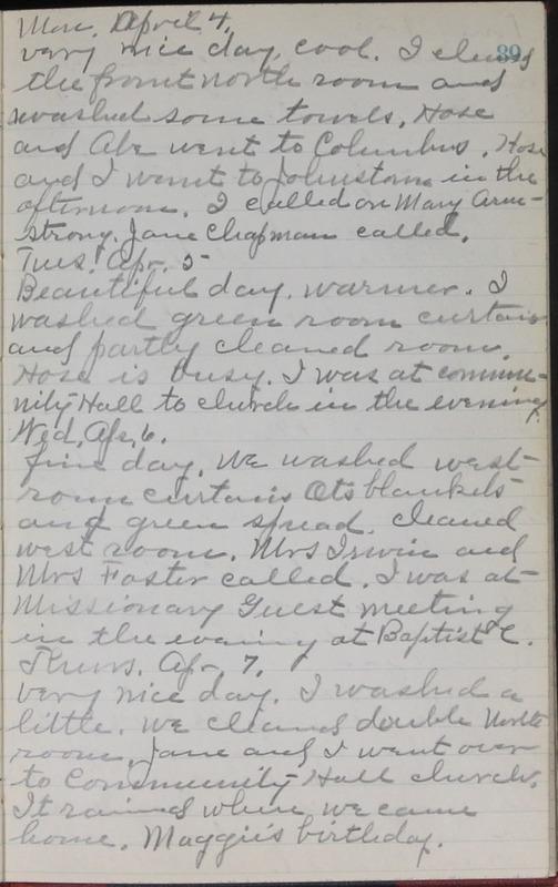 Roberta Hopkins' Journal, 1931-1933 (p. 92)