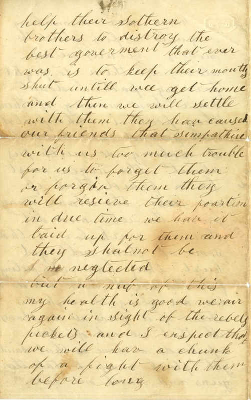 Mitchell Family Civil War Letters (p. 47)