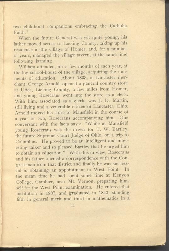 Major-General William Stark Rosecrans (p. 15)