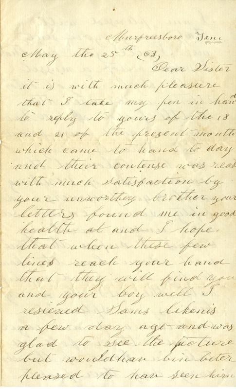 Mitchell Family Civil War Letters (p. 40)
