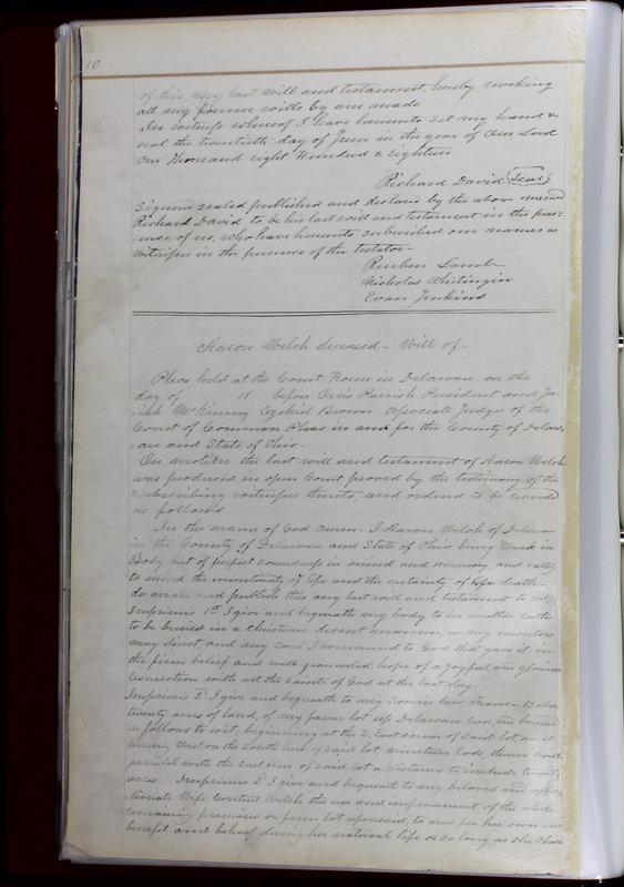 Delaware County Ohio Will Records Vol. 1 1812-1835 (p. 42)