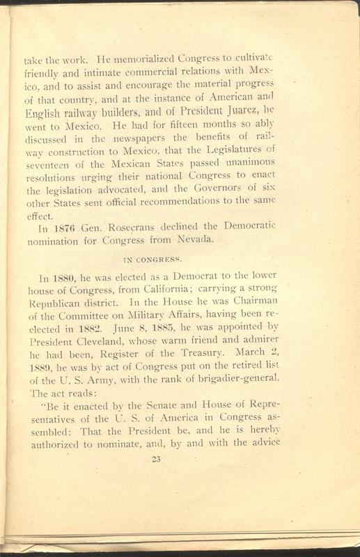 Major-General William Stark Rosecrans (p. 27)