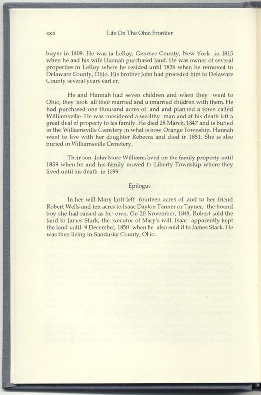 Life on the Ohio Frontier (p. 26)