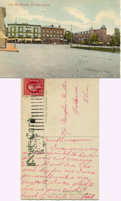 John Bricker Sr.'s Postcard Collection (p. 150)