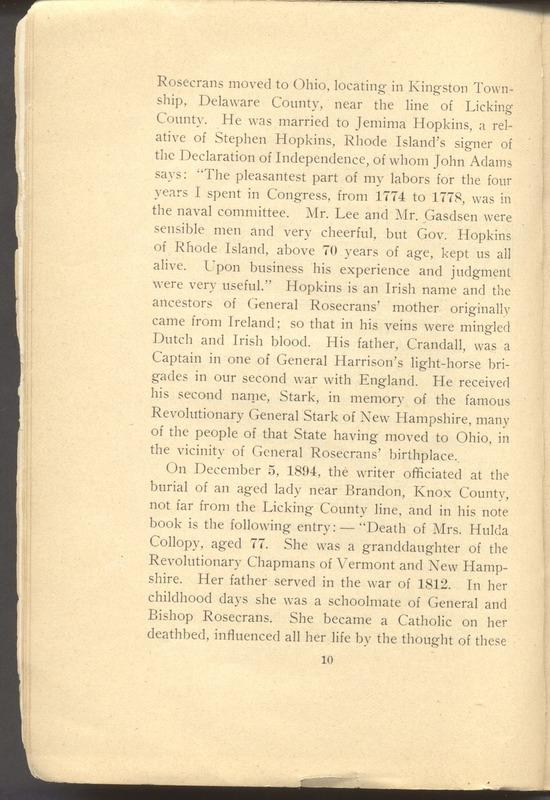 Major-General William Stark Rosecrans (p. 14)