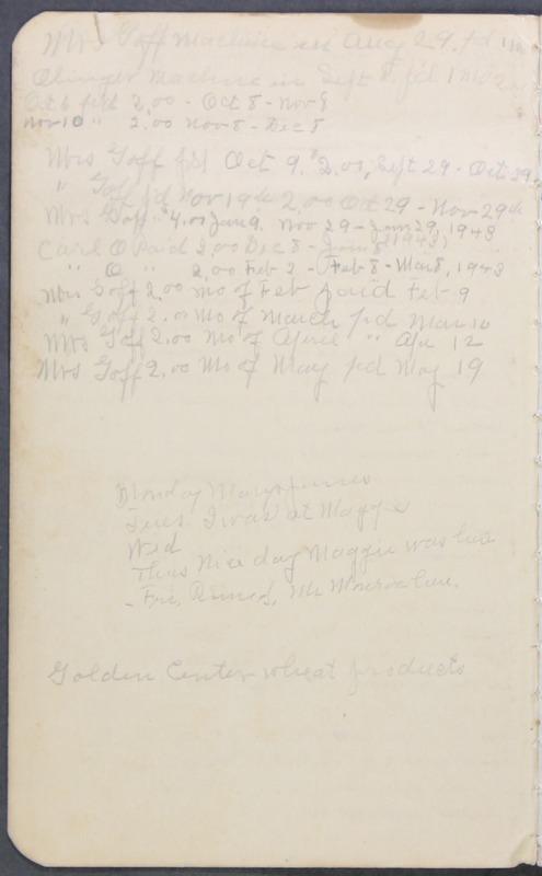 Roberta Hopkins' Journal 1941-1943 (p. 2)