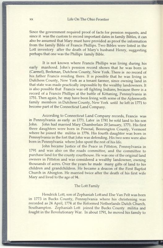 Life on the Ohio Frontier (p. 24)