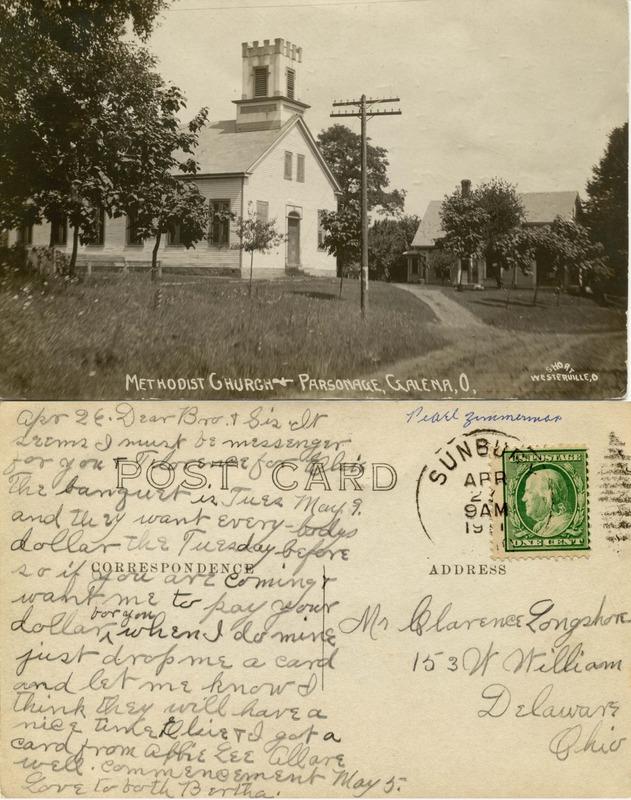 John Bricker Sr.'s Postcard Collection (p. 87)