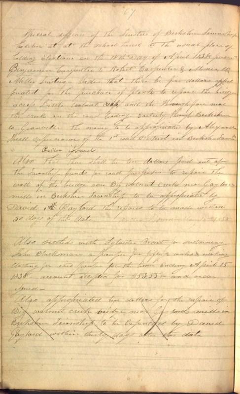 Record Book of Berkshire Township No. 2 1807-1843 (p. 80)