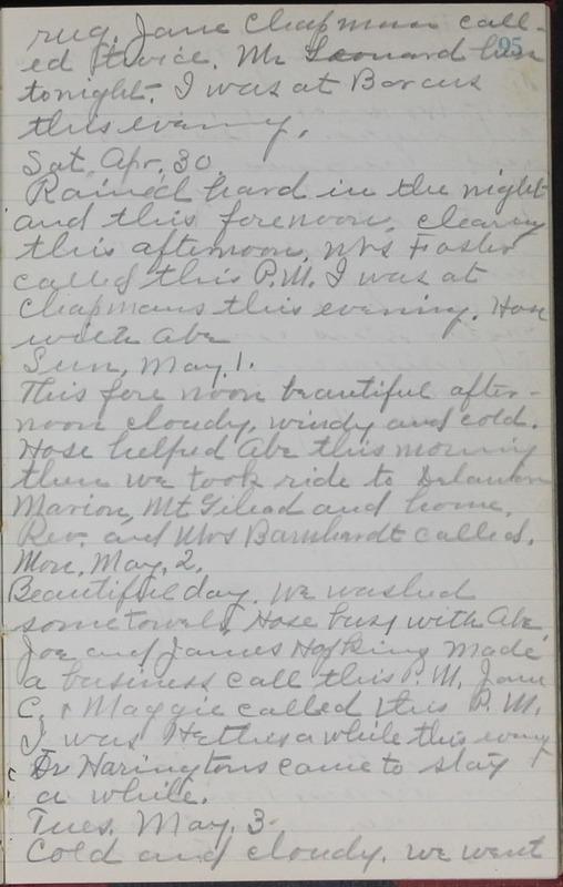 Roberta Hopkins' Journal, 1931-1933 (p. 98)