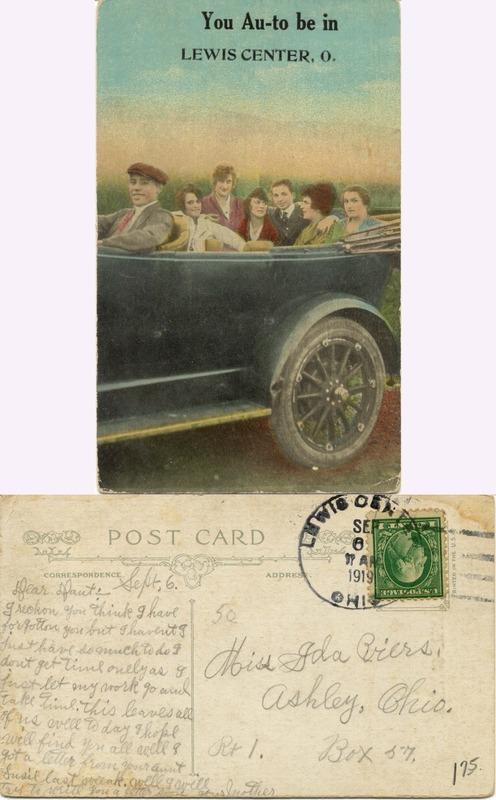 John Bricker Sr.'s Postcard Collection (p. 127)
