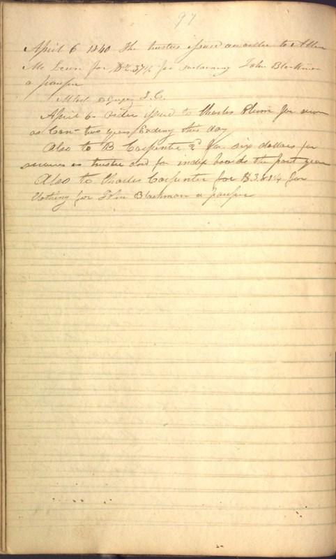 Record Book of Berkshire Township No. 2 1807-1843 (p. 110)