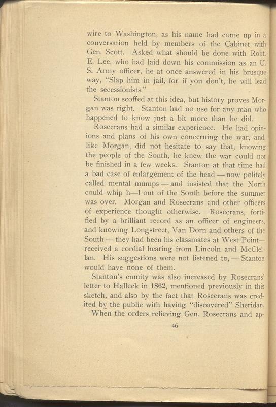 Major-General William Stark Rosecrans (p. 50)