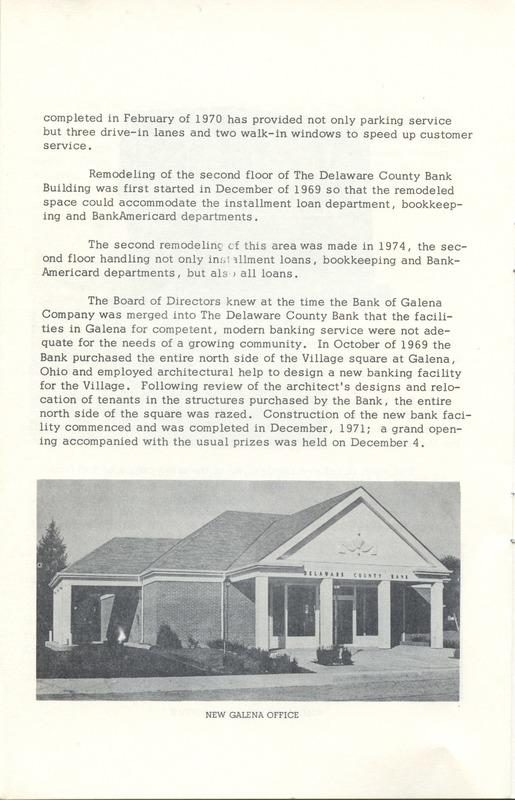 Delaware County Bank 1950-1975 (p. 13)