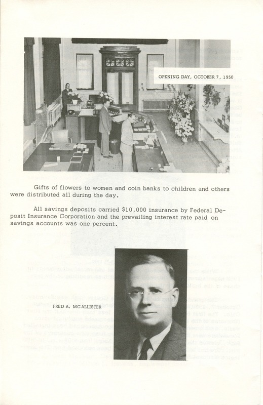 Delaware County Bank 1950-1975 (p. 5)