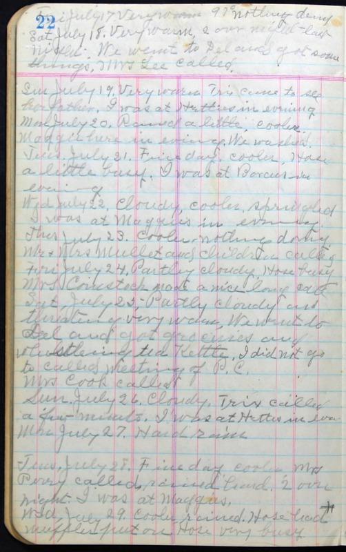 Roberta Hopkins' Journal 1941-1943 (p. 36)