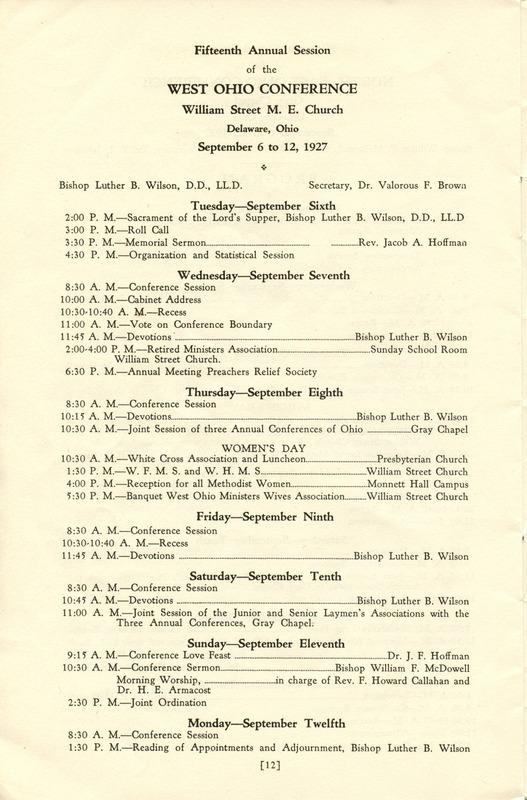 Tri-Conference Program (p. 14)