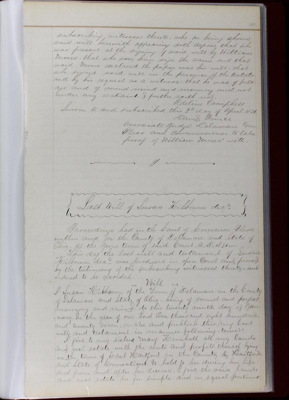 Delaware County Ohio Will Records Vol. 1 1812-1835 (p. 143)