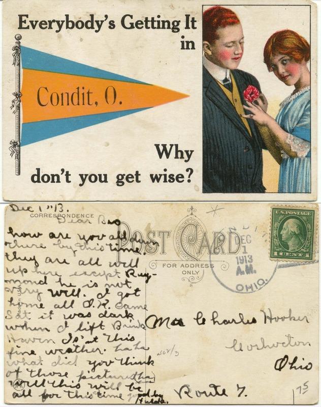 John Bricker Sr.'s Postcard Collection (p. 105)