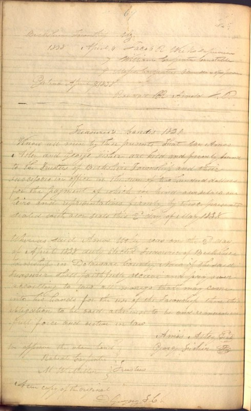 Record Book of Berkshire Township No. 2 1807-1843 (p. 82)