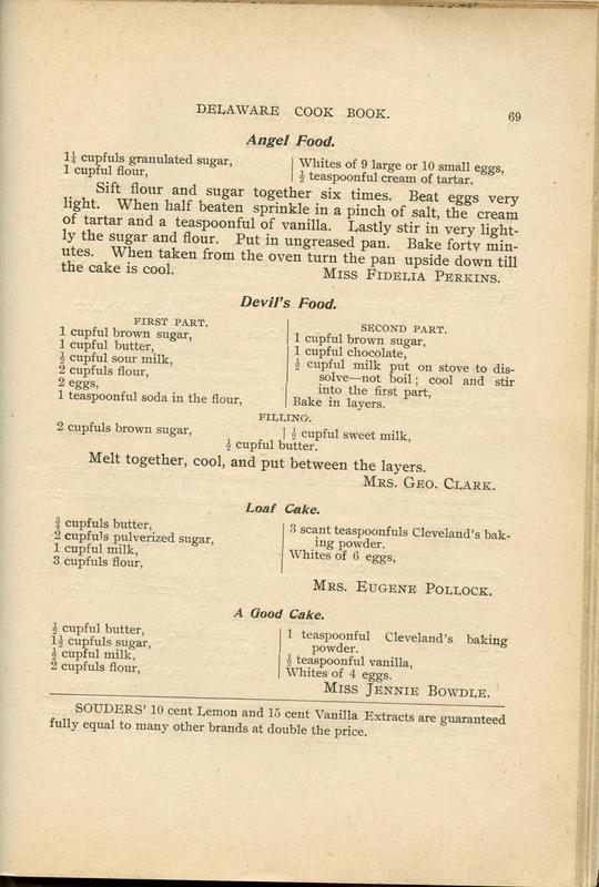 Delaware Cook Book (p. 74)