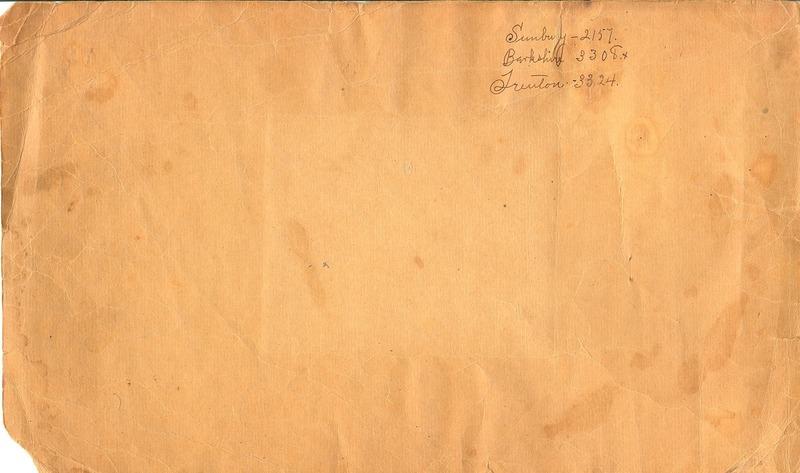 Cemetery Record Galena and Berkshire Cemetery (p. 2)