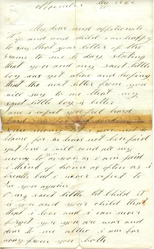 Mitchell Family Civil War Letters (p. 18)