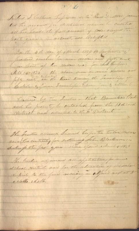 Record Book of Berkshire Township No. 2 1807-1843 (p. 87)
