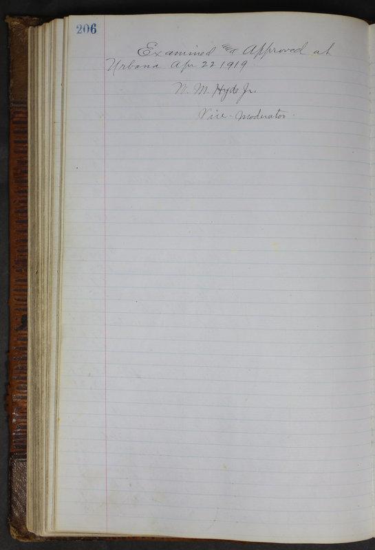 Sessional Records of the 1st Presbyterian Church of Trenton Delaware County Ohio 1873-1937 (p. 194)