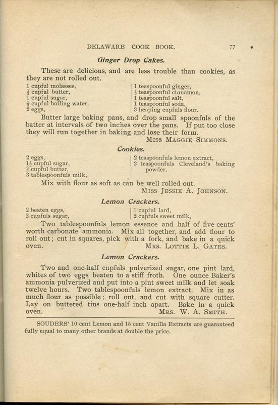 Delaware Cook Book (p. 82)