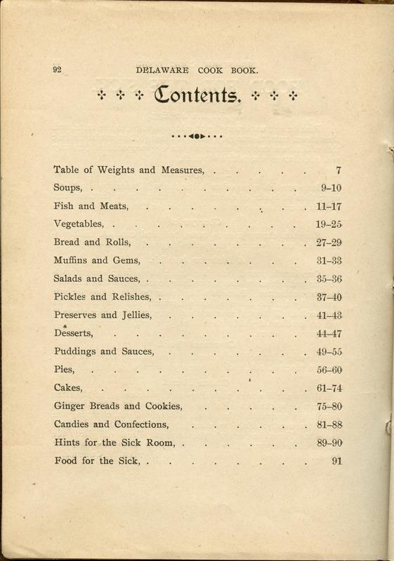 Delaware Cook Book (p. 97)