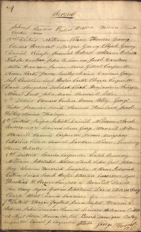 Record Book of Berkshire Township No. 2 1807-1843 (p. 22)