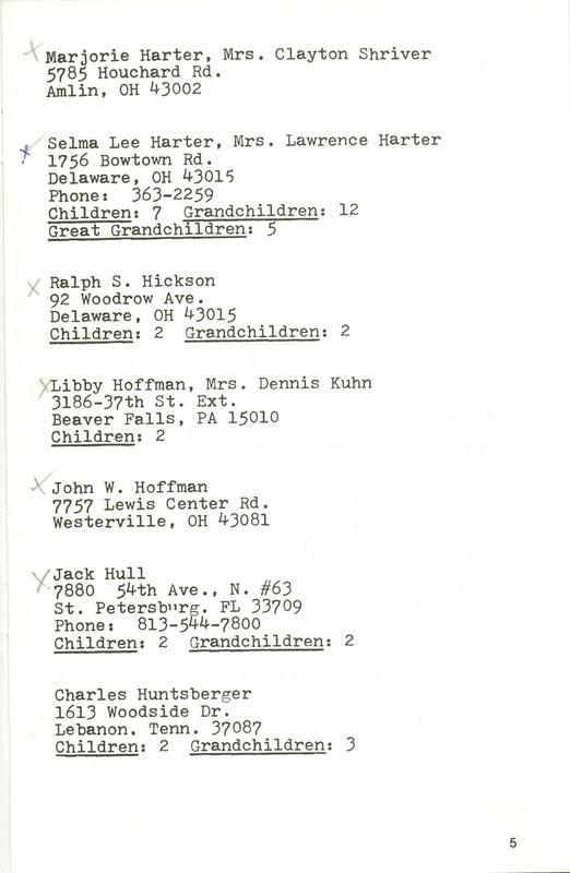 Willis High School Class of 1940 50th Reunion (p. 7)