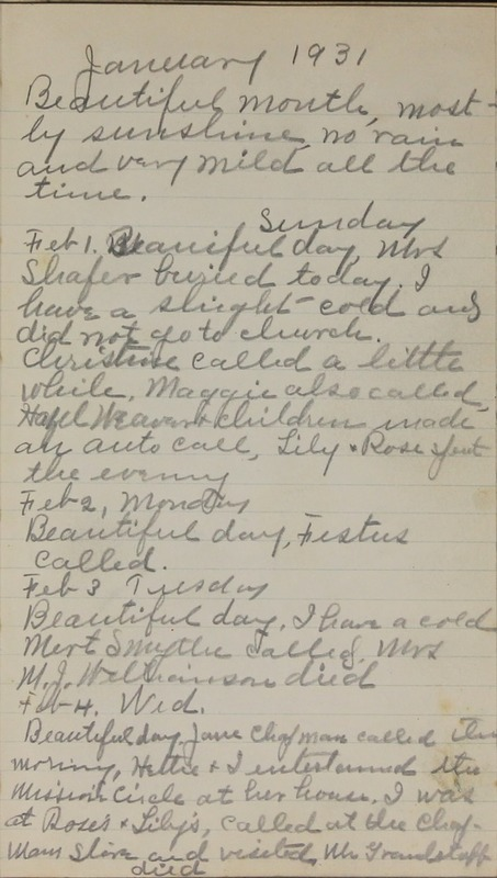 Roberta Hopkins' Journal, 1931-1933 (p. 4)