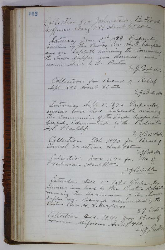 Sessional Records of the 1st Presbyterian Church of Trenton Delaware County Ohio 1873-1937 (p. 152)