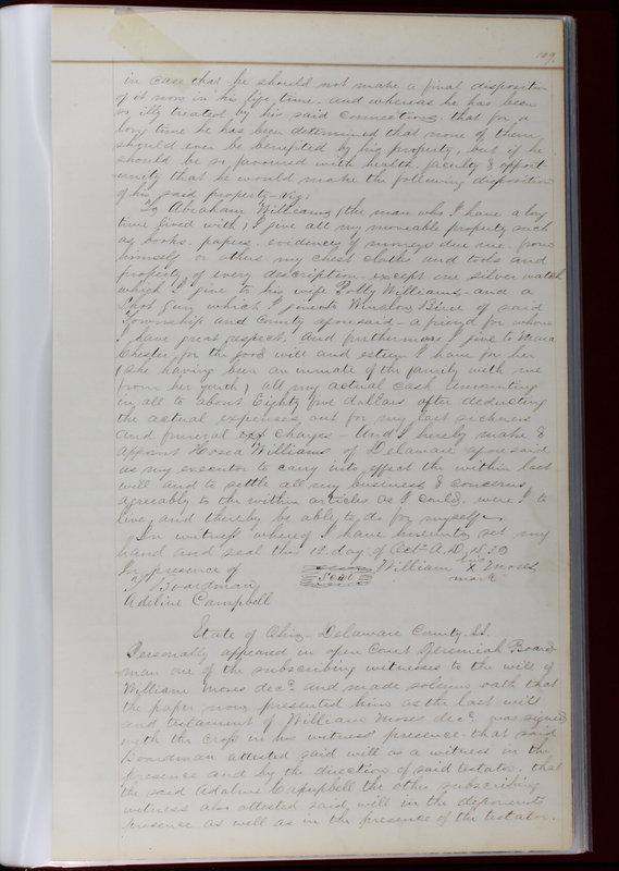 Delaware County Ohio Will Records Vol. 1 1812-1835 (p. 141)