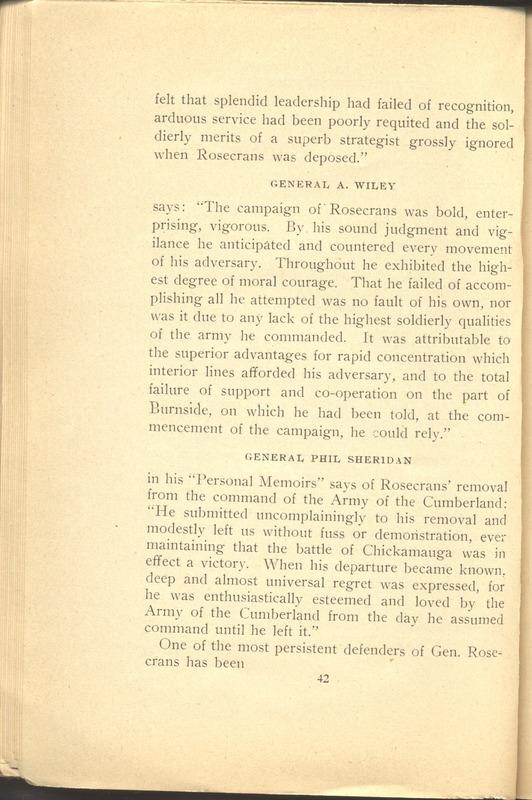 Major-General William Stark Rosecrans (p. 46)
