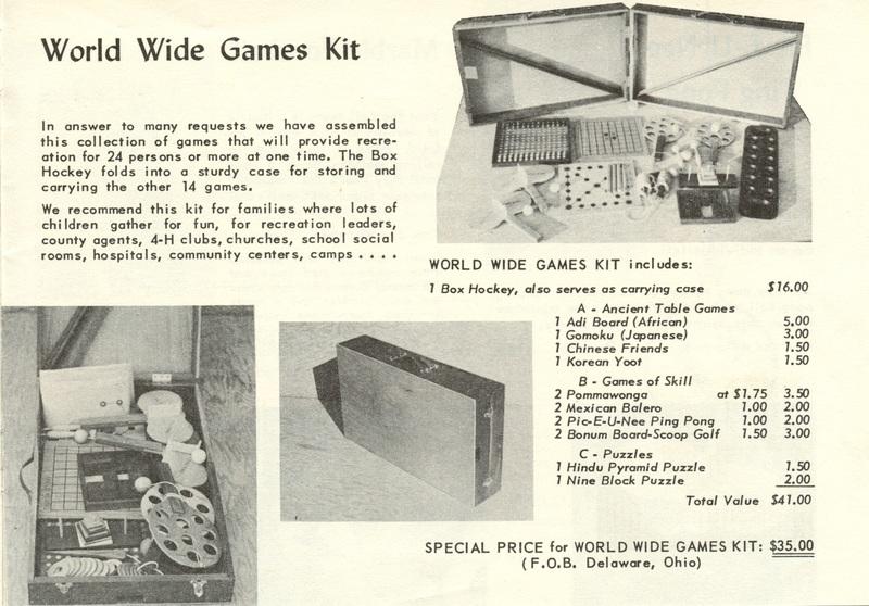 World Wide Games (p. 13)