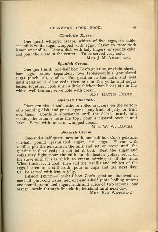 Delaware Cook Book (p. 52)