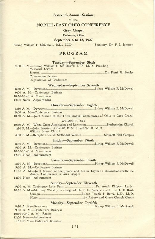 Tri-Conference Program (p. 13)