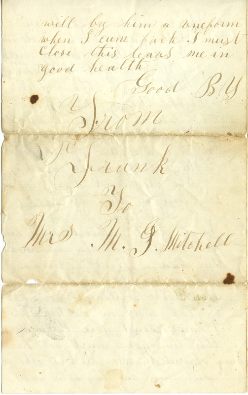 Mitchell Family Civil War Letters (p. 54)