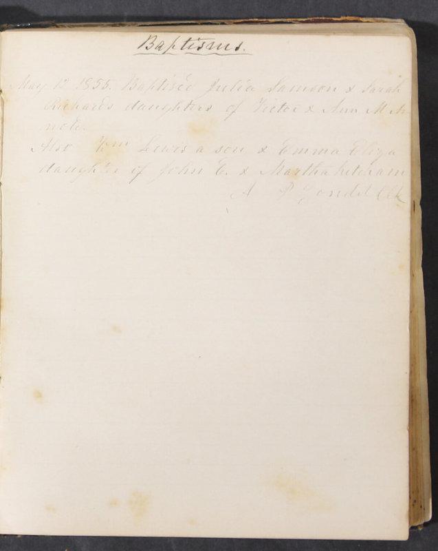Sessional Records of the 1st Presbyterian Church of Trenton, Delaware Co., Ohio, 1831 (p. 121)