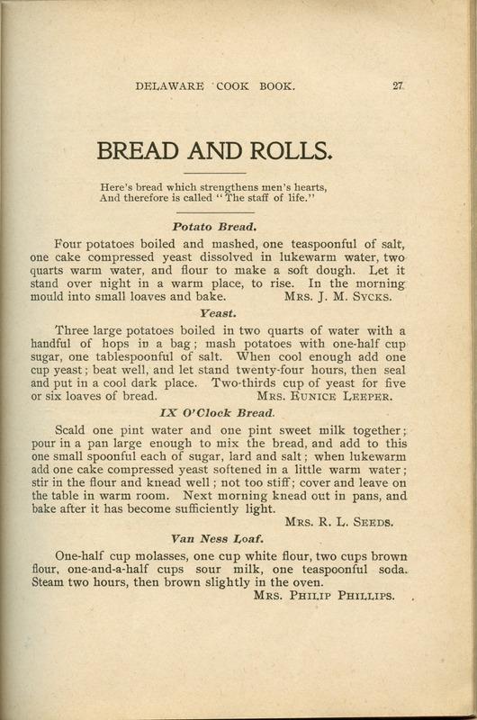 Delaware Cook Book (p. 32)